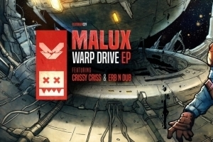 Malux - Warp Drive EP (EATBRAIN039)