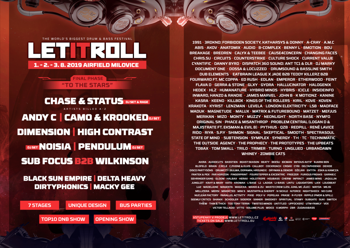 Let It Roll 2019 The final phase is here!
